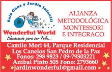 Portales de negocios del grupo el mercurio for Andalue jardin infantil
