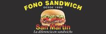 Fono Sandwich San Martin  - Sandwiches